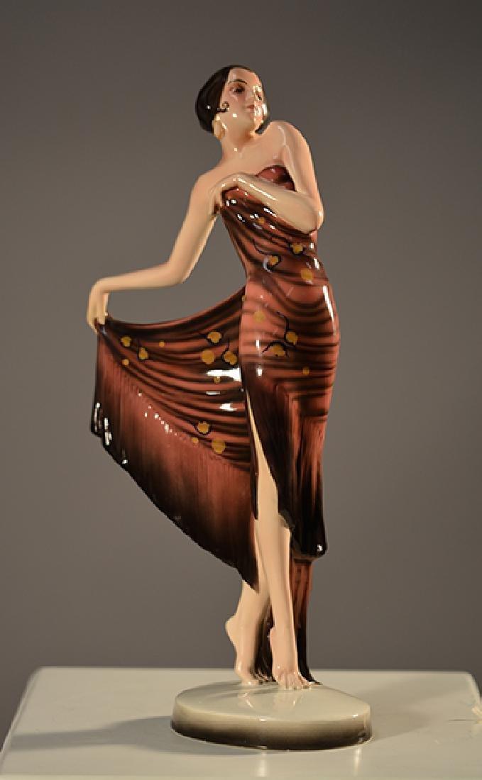 Goldscheider/Lorenzl Art Deco Figurine