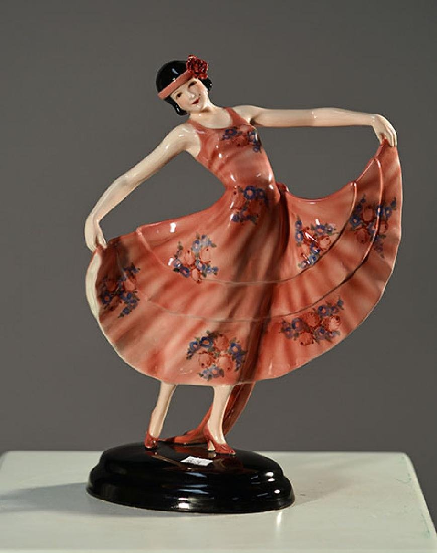 Goldscheider Art Deco Figure