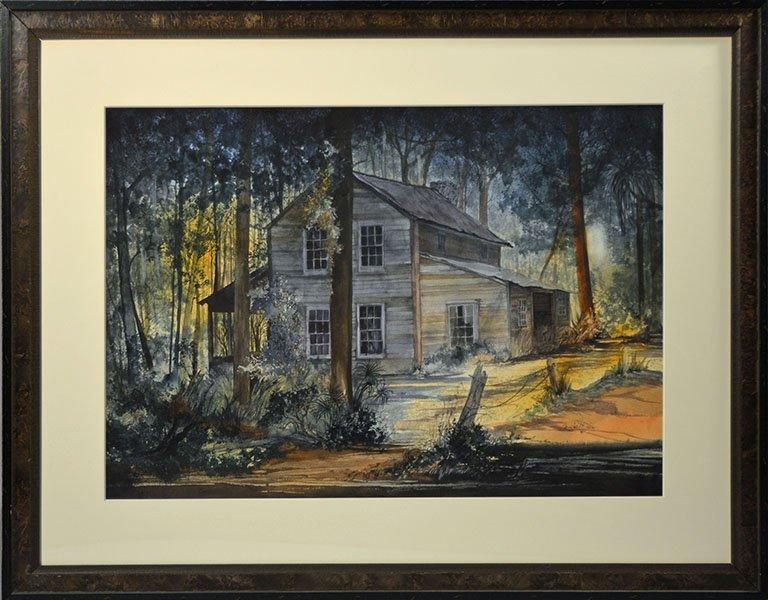 Douglas H Teller Watercolor