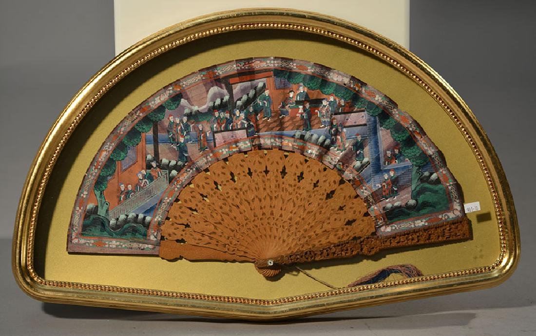 19th C. Chinese Export Fan