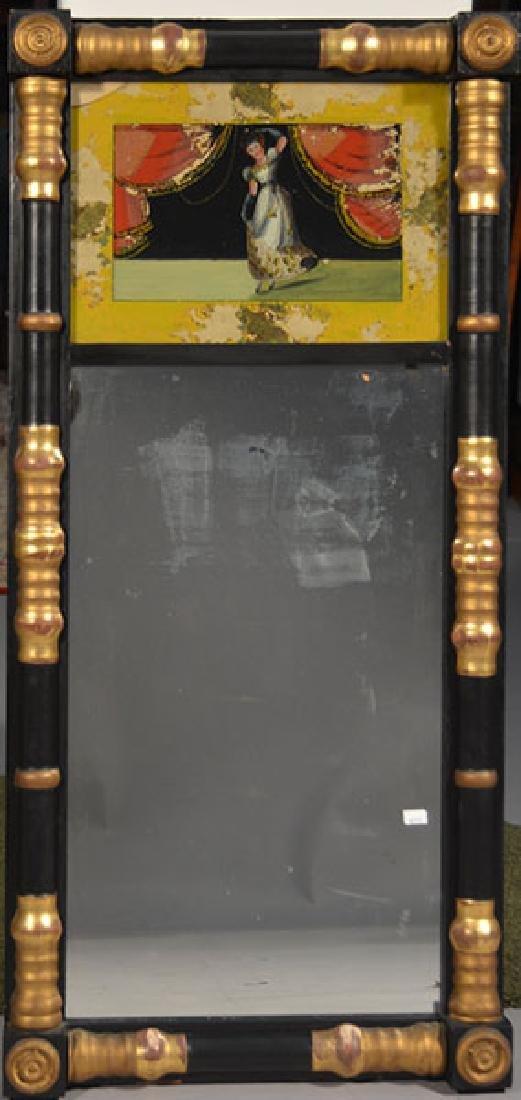 19th C. Eglomise Mirror