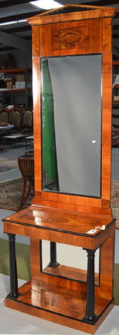 Beidermeier Console and Mirror