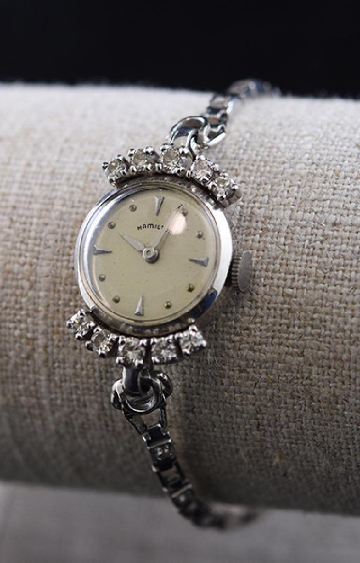 14K Diamond Lady's Hamilton Watch