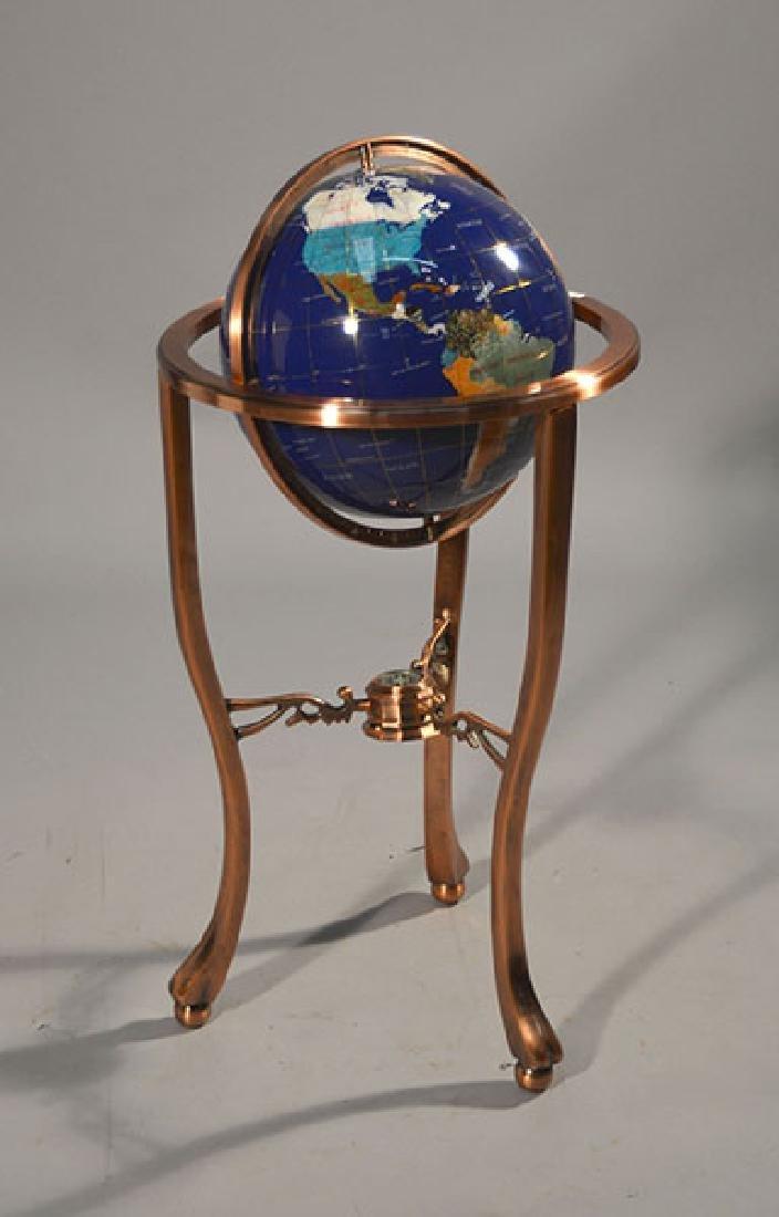 Lapis World Globe