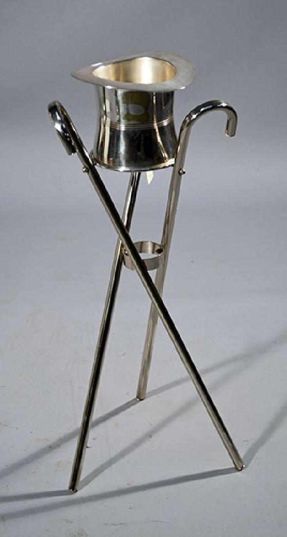 Art Deco Hat Form Wine Bucket