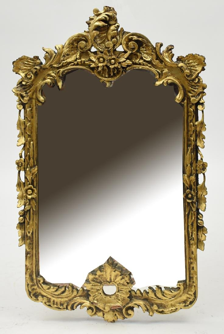 Ornate Carved and Gilt Wall Mirror