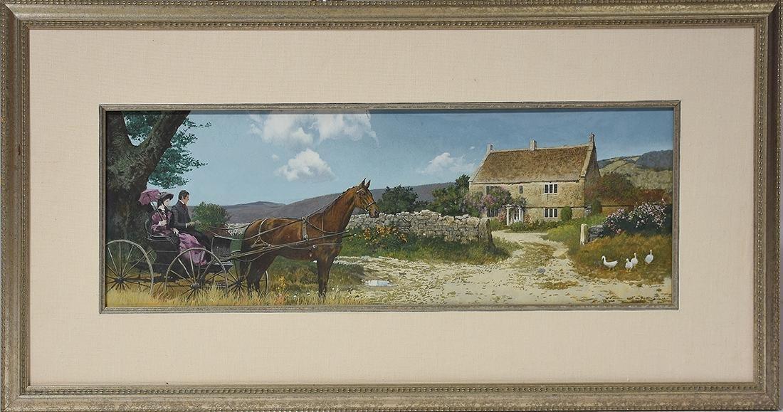 Robert McGinnis Painting