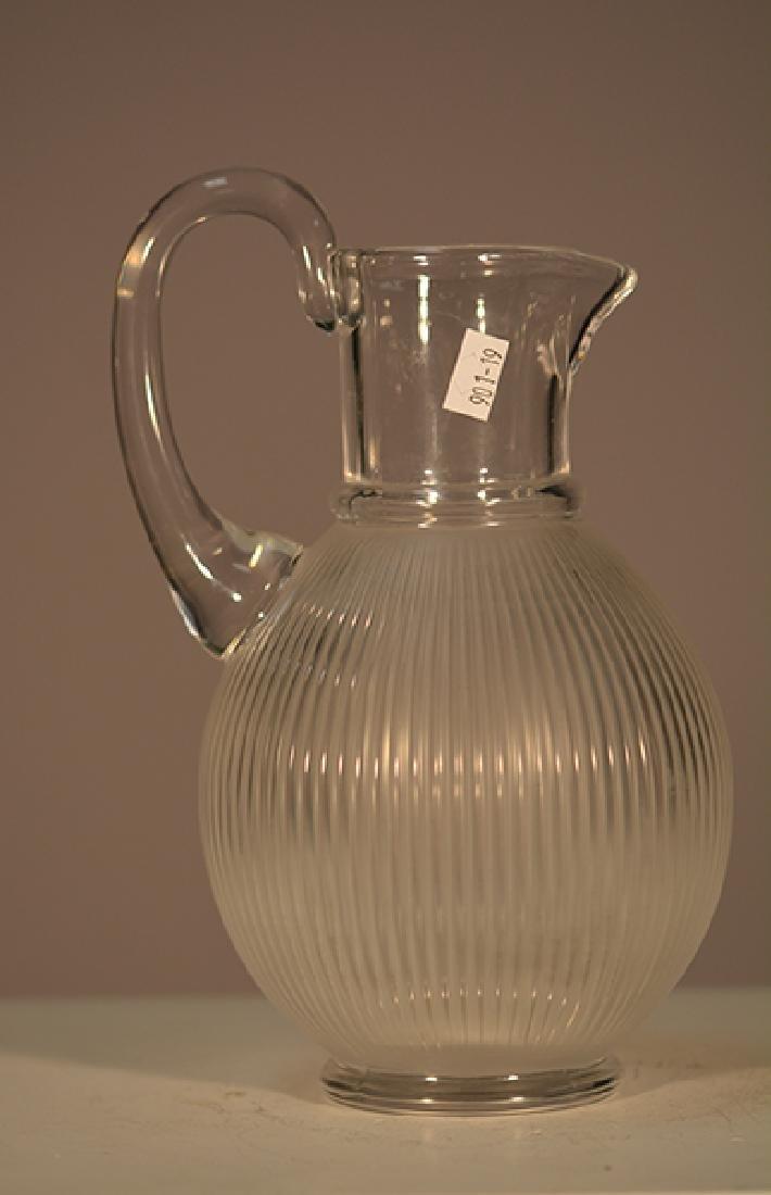 Lalique Pitcher