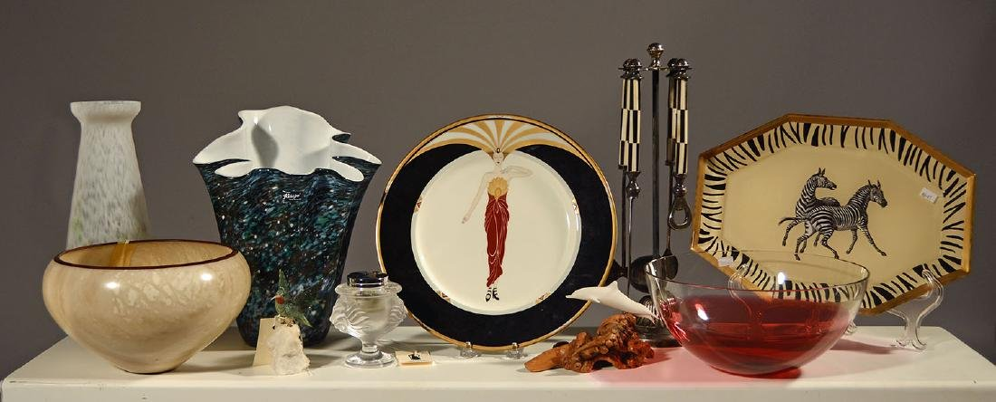 Selection of Decorative Items, Including Lalique