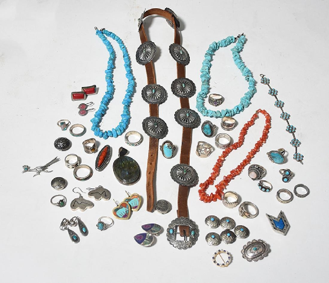 Selection of Native American Jewelry