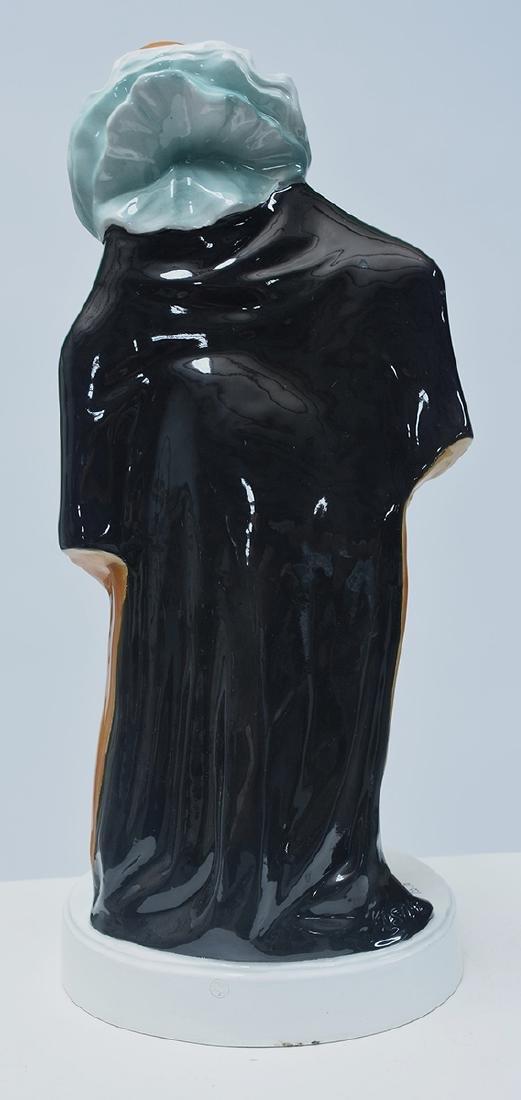Large Goldscheider Art Deco figure of Harlequin - 5