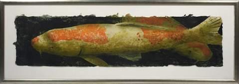 Daniel Kelly Am b 1947 hand colored print on