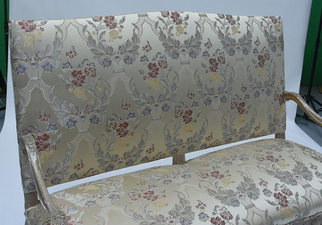 French 19th C. Louis XV style three seat settee - 3