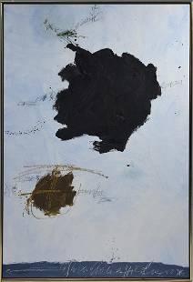 "Kikuo Saito (b.1939) oil on canvas """