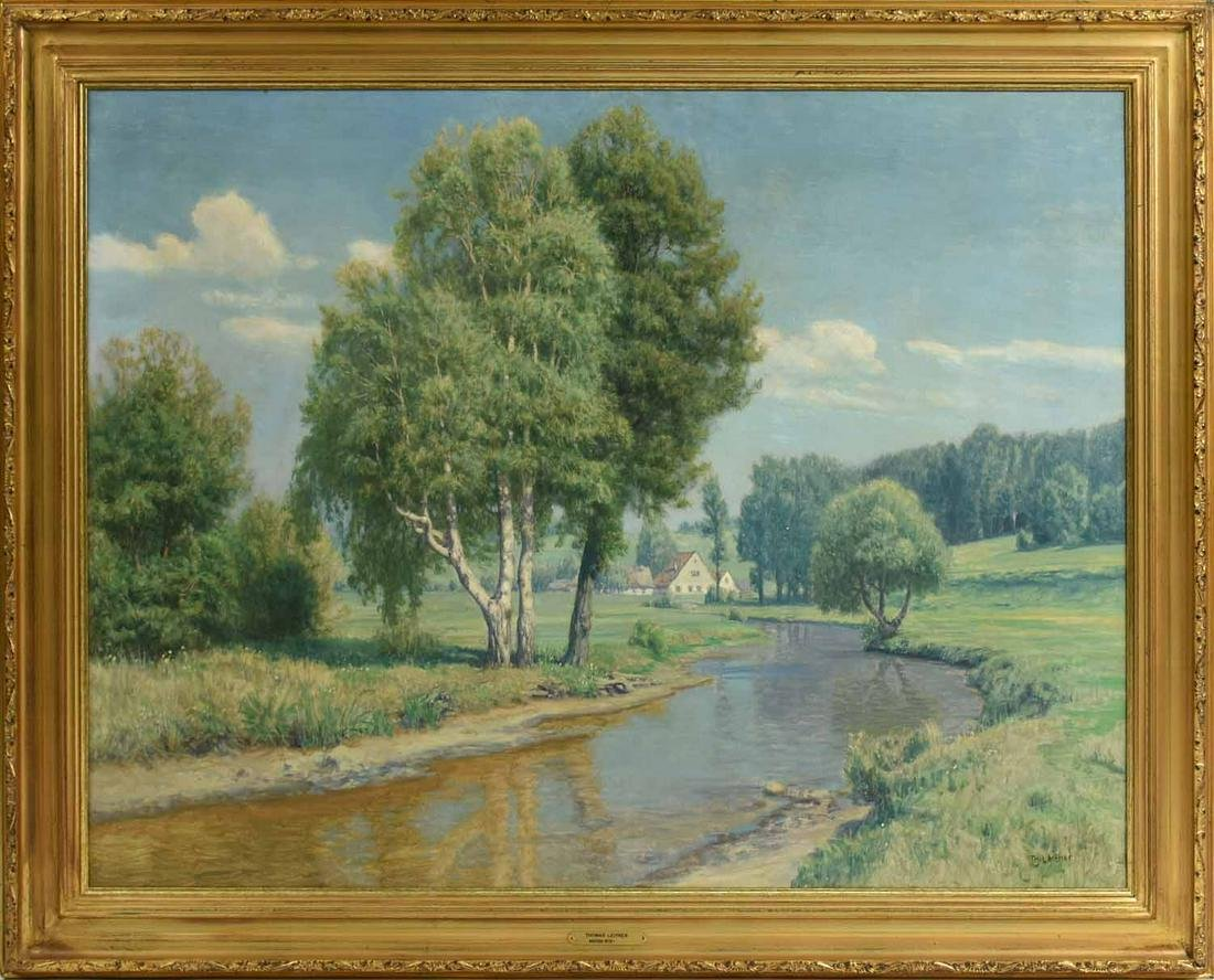 Thomas Leitner Oil on Canvas