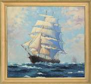 CE Rockstrom Oil Sailing Ship