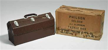 Philson Deluxe Aluminum Tackle Box