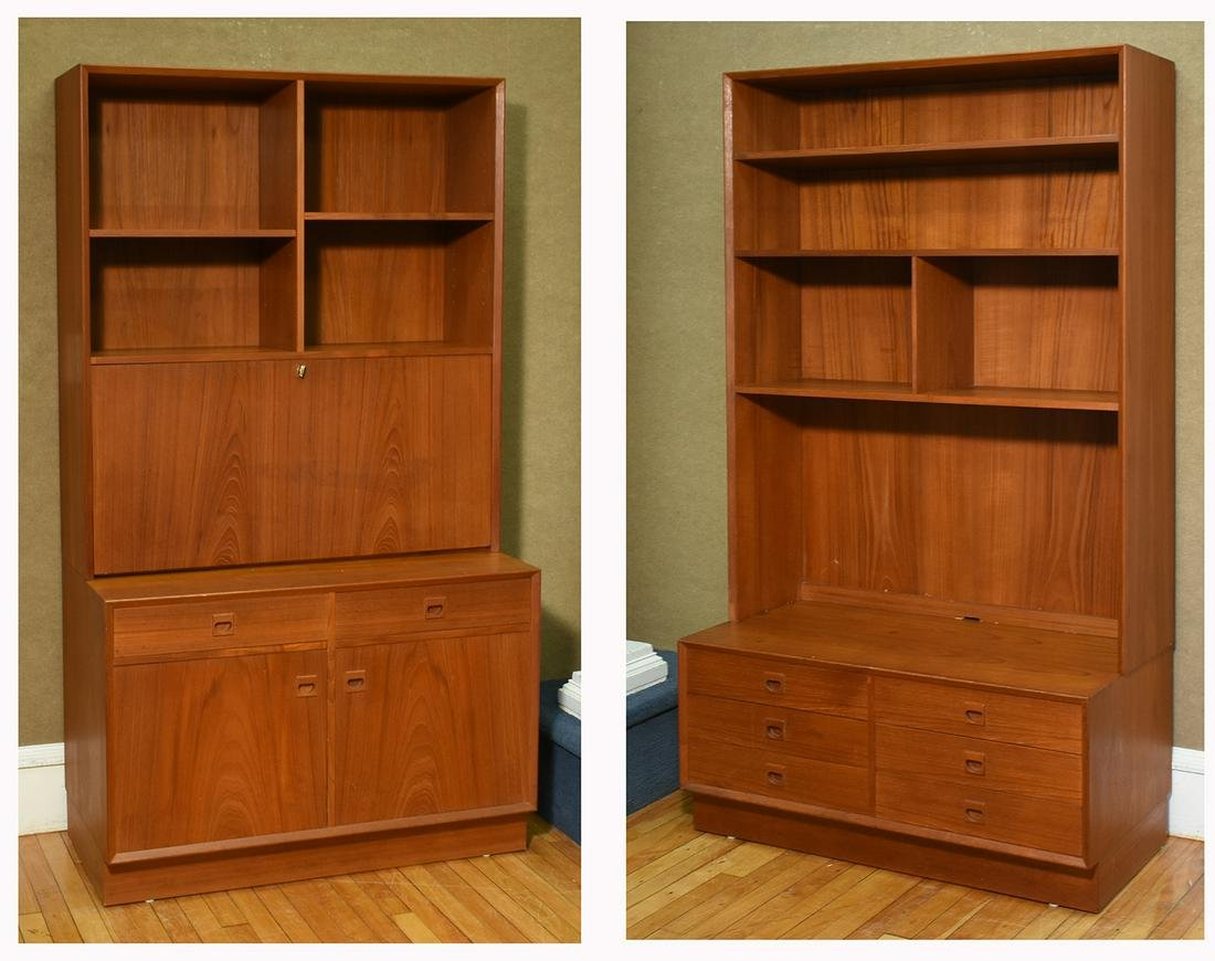 Two Brover Danish Teak Cabinets