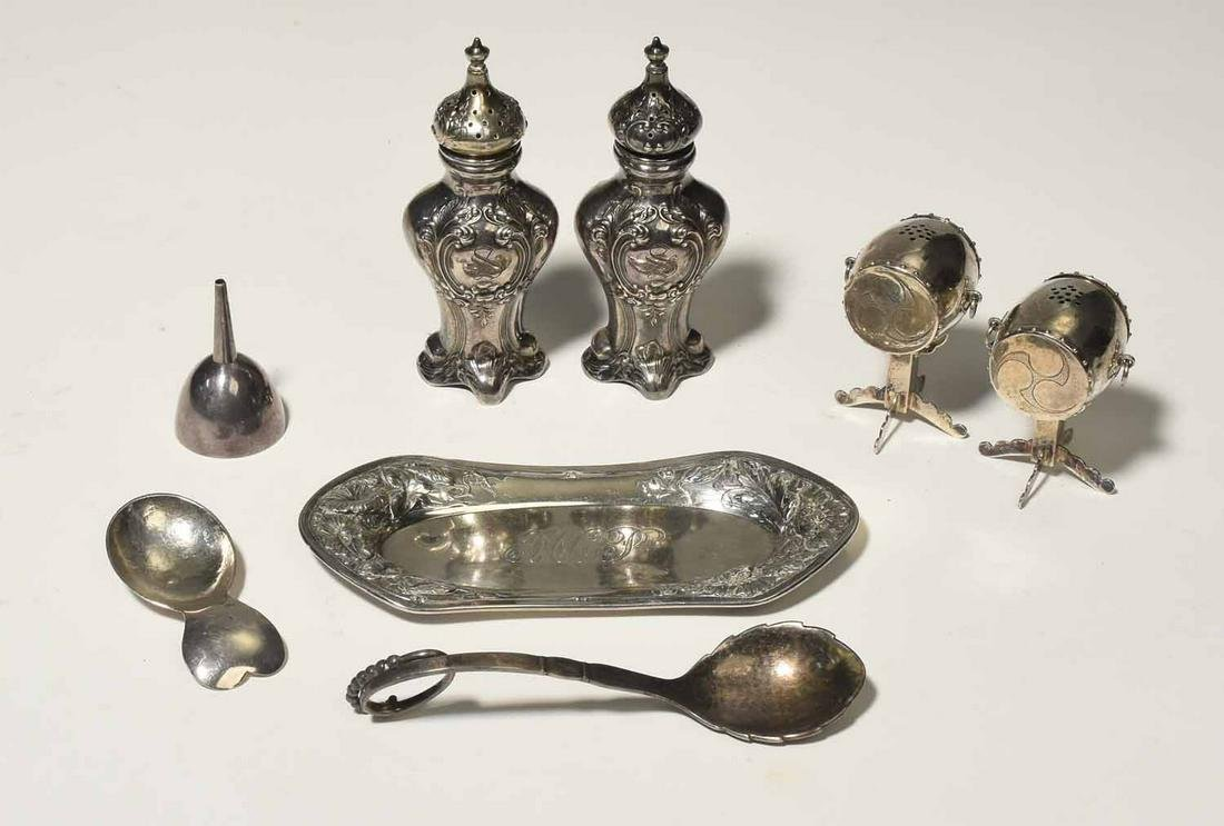 Antique Sterling Lot