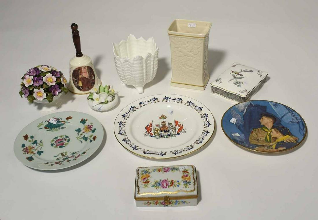 Ten Piece Porcelain Lot