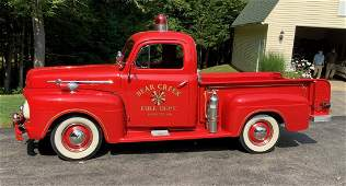 1952 Ford F1 Pickup, Fire Chief