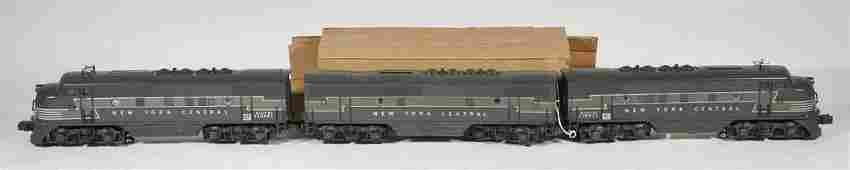 Lionel 2344 NYC F-3 ABA Diesel Locomotives