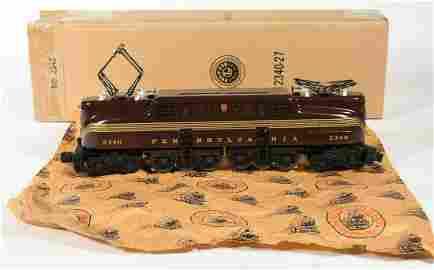 Lionel 2340 Tuscan Pennsylvania GG-1 Electric