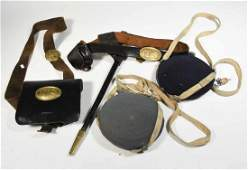Group of Civil War related including cartridge box