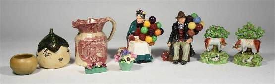 Collector's lot: Royal Doulton, Staffordshire,