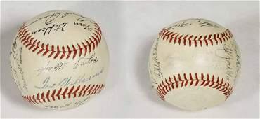 1949 Ted Williams baseball
