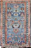 Old Oriental scatter rug