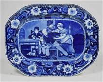 19th C. Staffordshire platter
