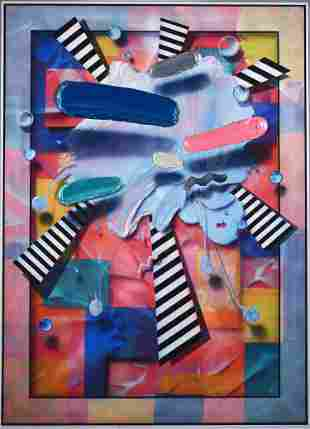 Clarence Measelle (American, B. 1937). 3-D 80's Pop