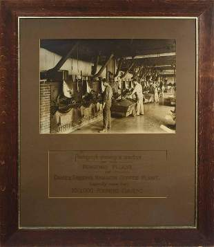 Early Photo Chase & Sanborne's Coffee Plant