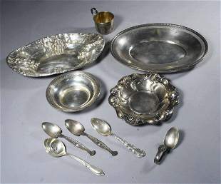 Assorted Sterling Lot