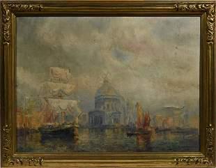 Frederick Leo Hunter Oil on canvas