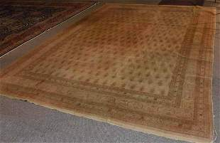 Vintage room-size Oriental rug