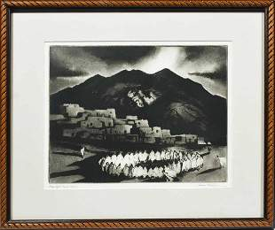 GENE KLOSS, CA. 1925-50, INTAGLIO