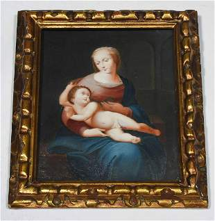 LATE 18TH-EARLY 19TH C., GOUACHE AND OIL ON VELLUM,