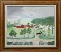 ANNA MARY ROBERTSON 'GRANDMA' MOSES, 1944