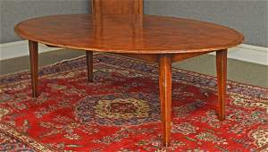 CUSTOM OVAL FRENCH TABLE: