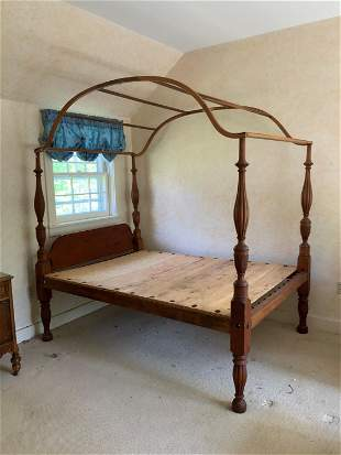 FEDERAL CANOPY BED