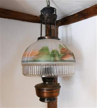 ALADDIN MODEL #12 HANGING LAMP
