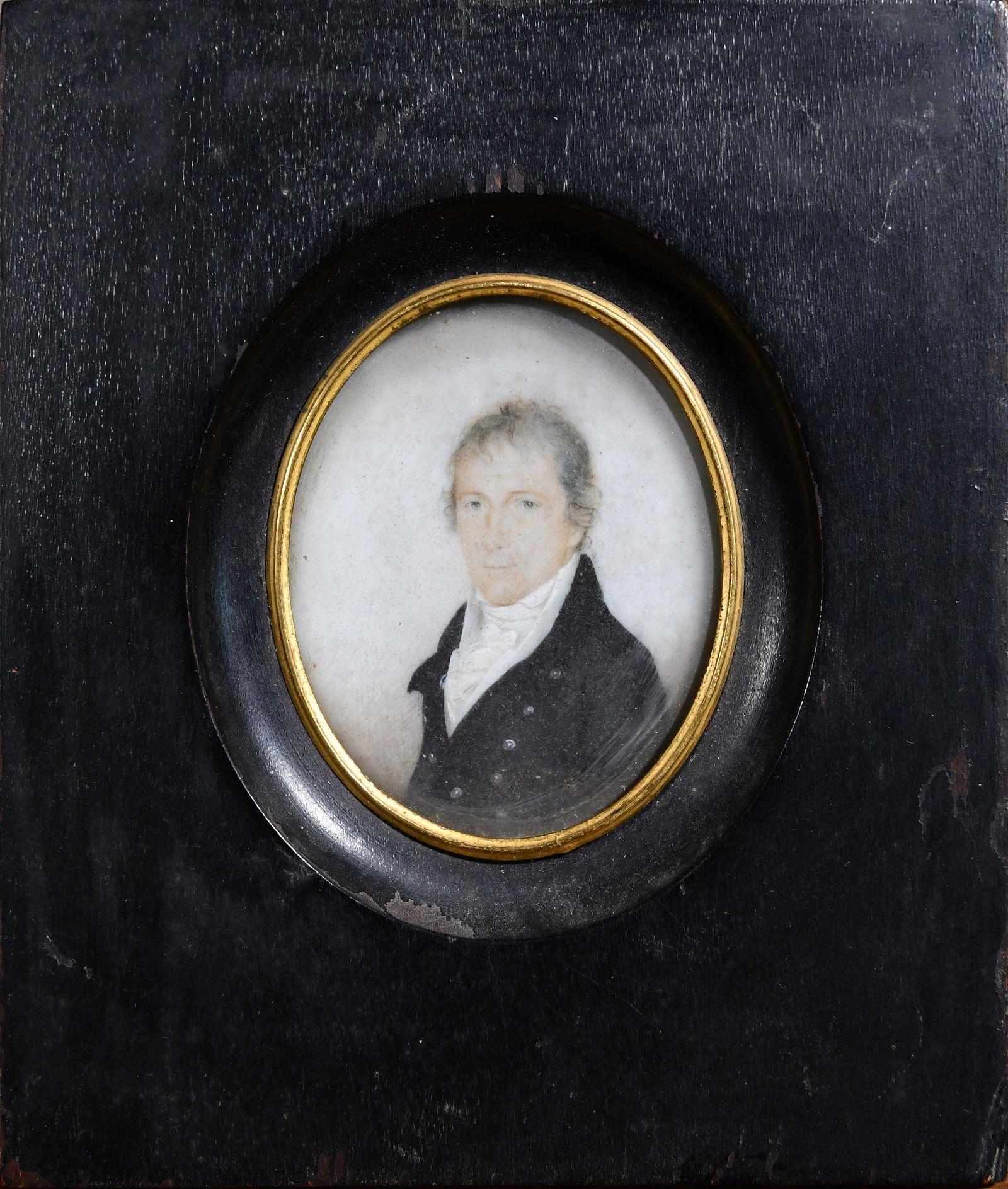 1795 UNSIGNED PORTRAIT OF WILLIAM HENRY ALEXANDER