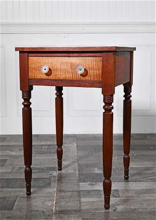 19TH C. ONE DRAWER STAND