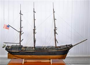 VINTAGE SHIP MODEL