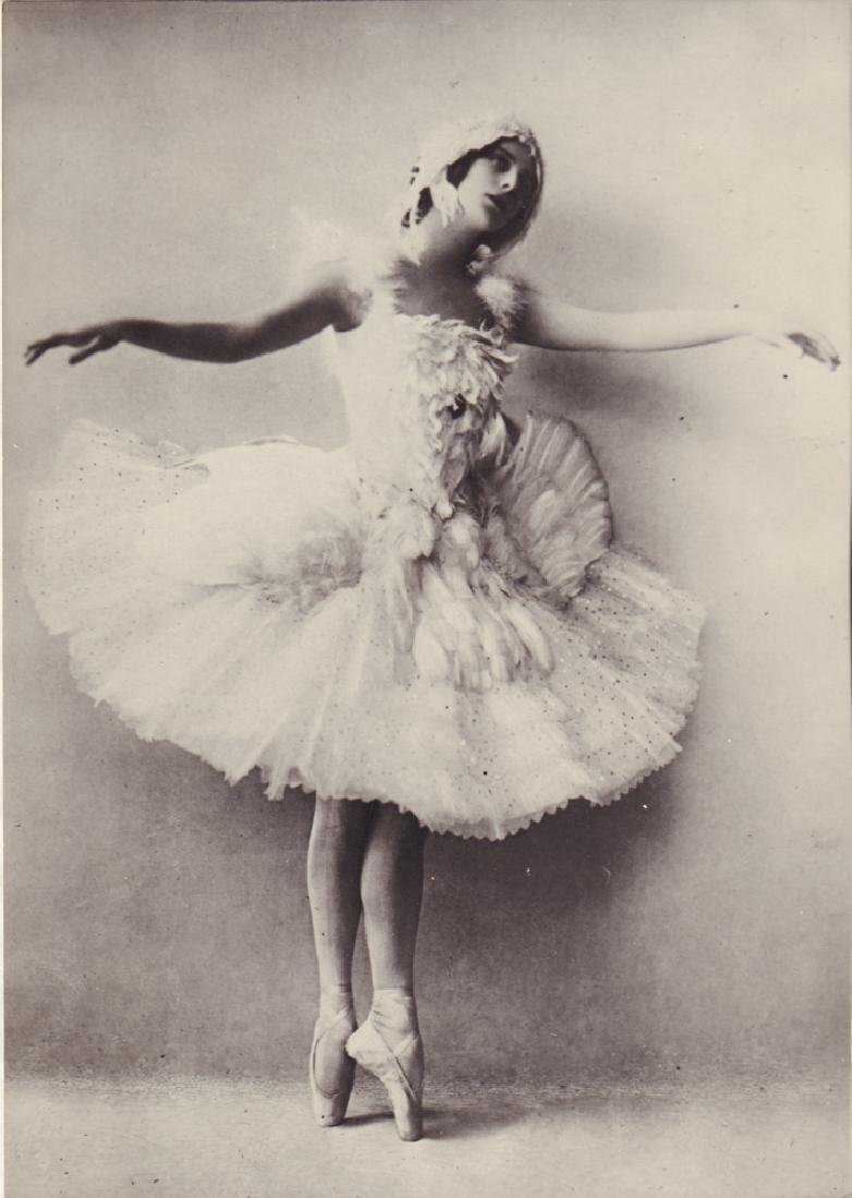 [Ballets russes; Pavlova]. Photo: Anna Pavlova [Russian;