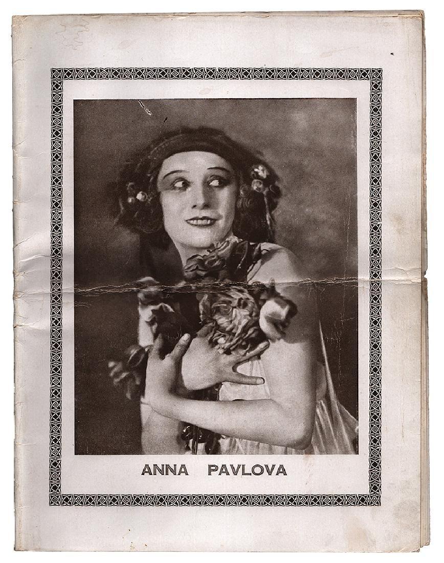 [Russian ballet, Pavlova] Anna Pavlova [Russian;
