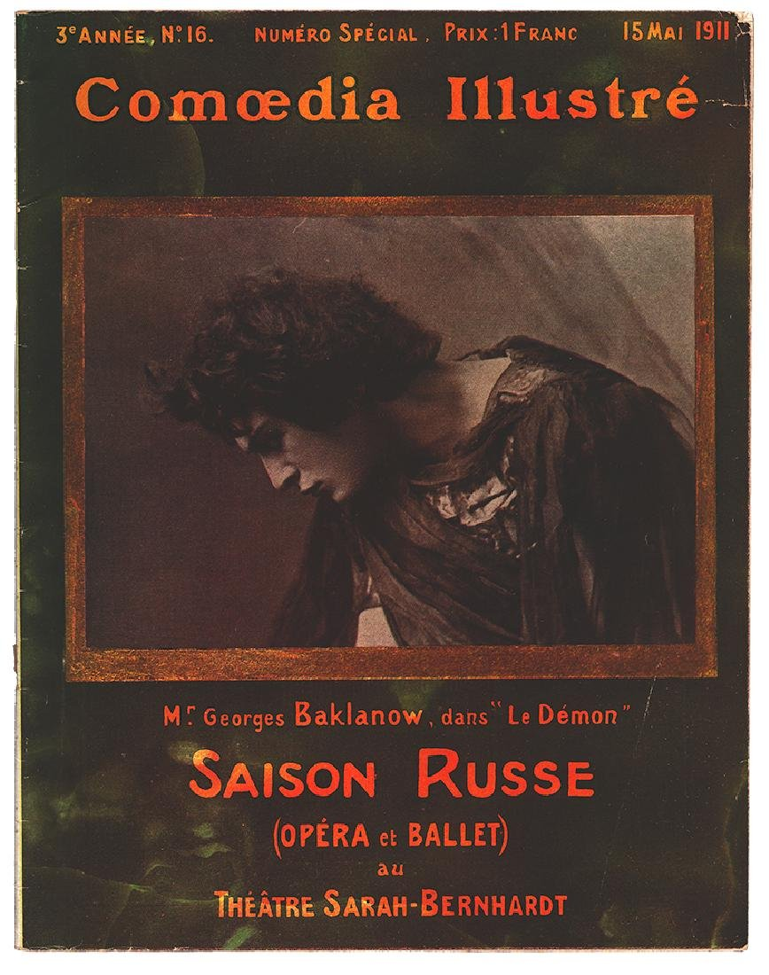 [Ballets russes; Sarah Bernhardt] Russian seasons