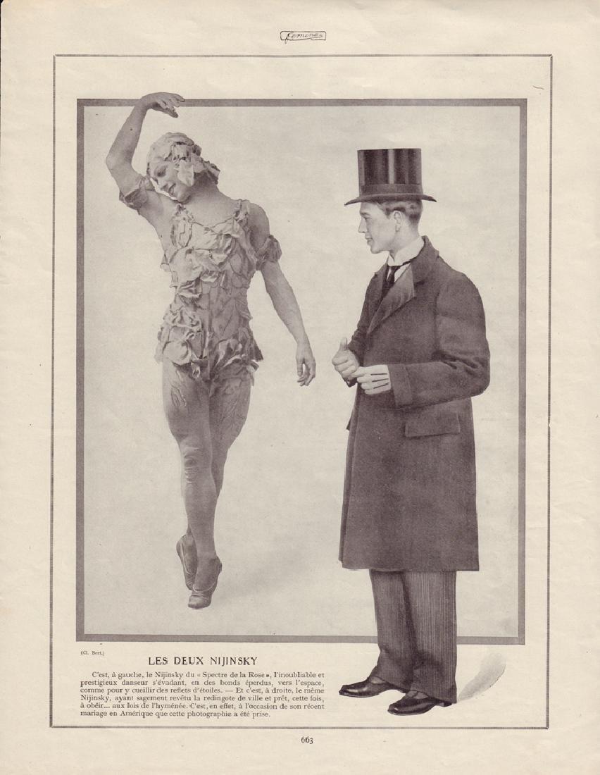 [Ballets russes] Image of V.F. Nijinsky